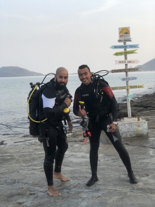 2 Tank Trip With Snorkeling Fujairah Boat Trips extremesports.ae